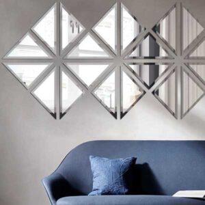 نکات مهم برای تزئین دیوار با آینه دکوراتیو
